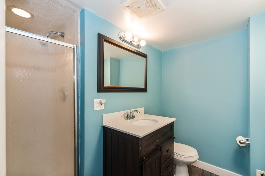 Real Estate Photography - 5367 N. Lynch Ave., Chicago, IL, 60634 - 2nd Bathroom