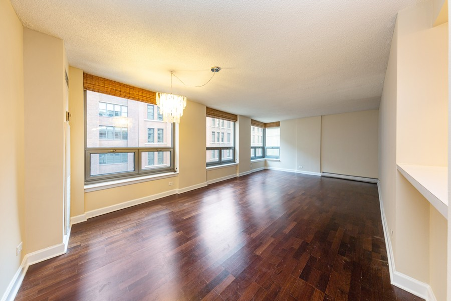 Real Estate Photography - 440 N. Wabash, #505, Chicago, IL, 60611 - Living Room / Dining Room