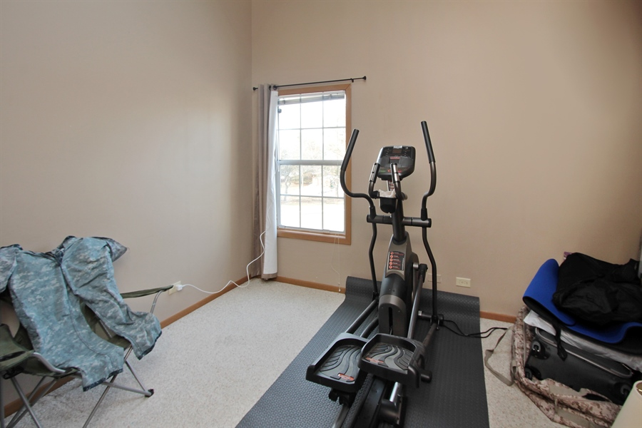 Real Estate Photography - 4484 Brighton Ct, Gurnee, IL, 60031 - 2nd Bedroom