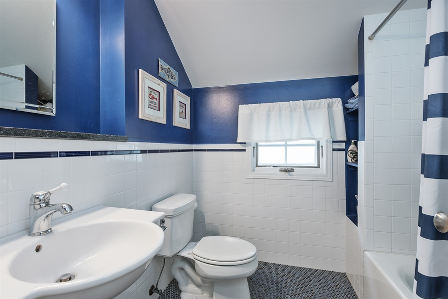 Real Estate Photography - 4512 N Damen, Chicago, IL, 60625 - 3rd Bathroom