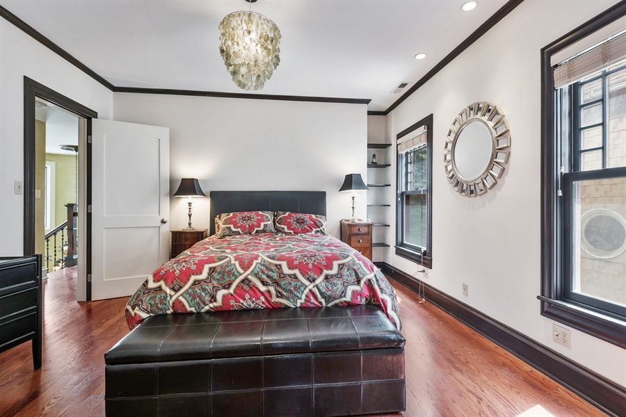 Real Estate Photography - 4512 N Damen, Chicago, IL, 60625 - Master Bedroom