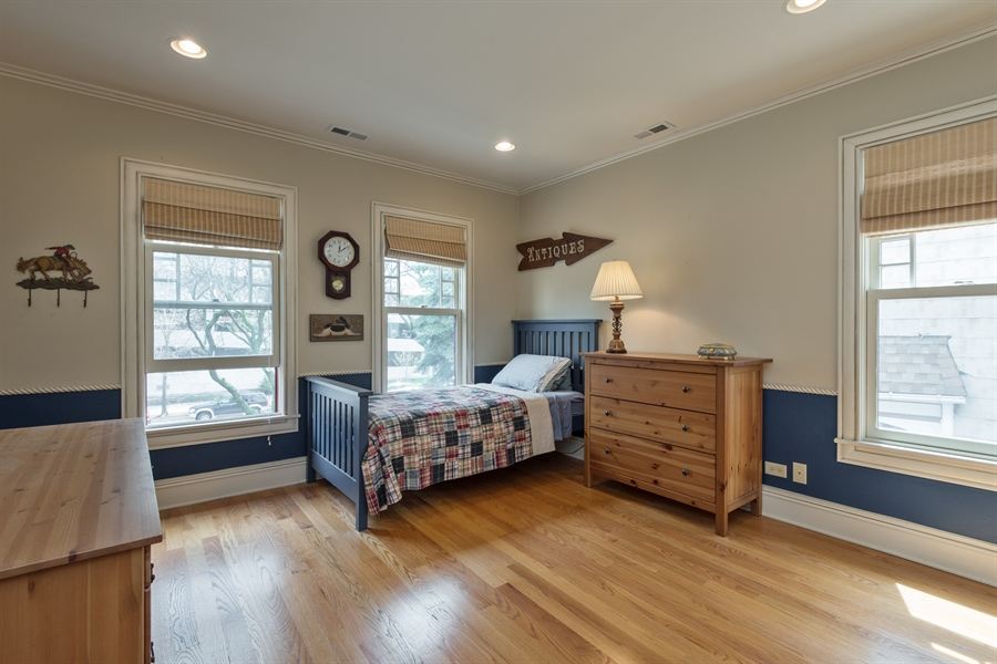 Real Estate Photography - 4512 N Damen, Chicago, IL, 60625 - 2nd Bedroom