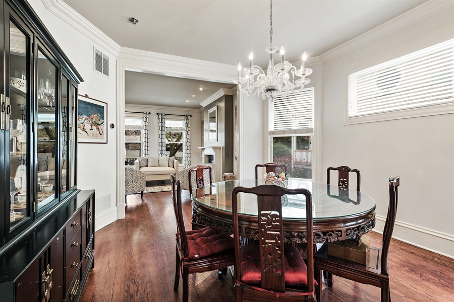 Real Estate Photography - 4512 N Damen, Chicago, IL, 60625 - Dining Room