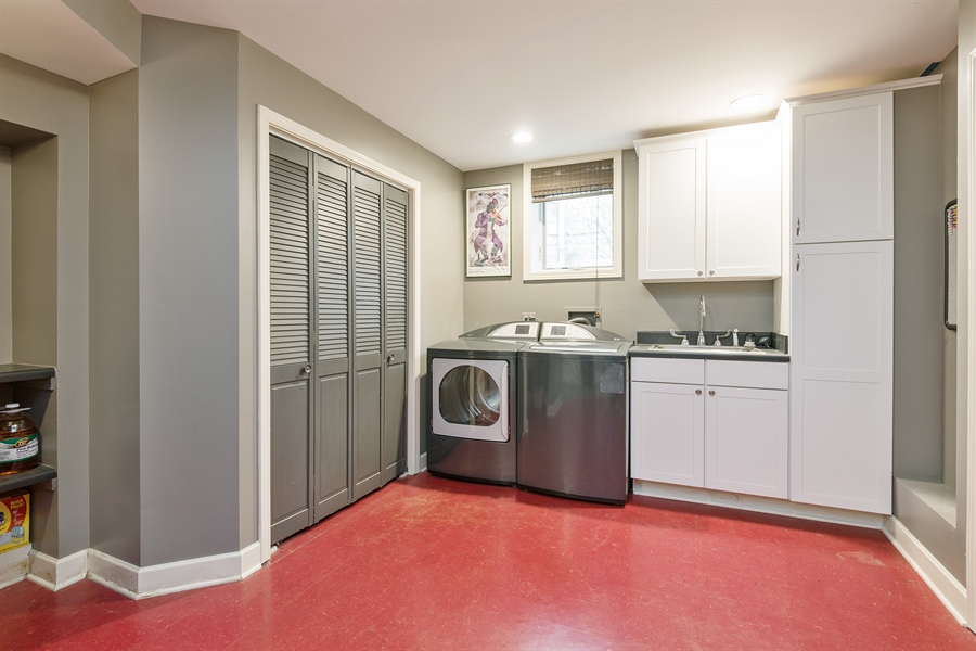 Real Estate Photography - 4512 N Damen, Chicago, IL, 60625 - Laundry Room