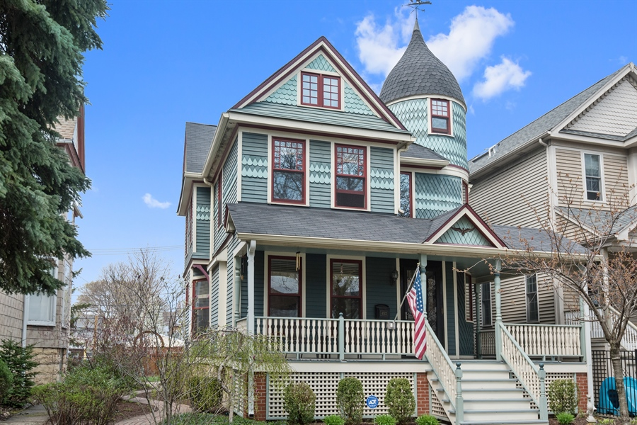 Real Estate Photography - 4512 N Damen, Chicago, IL, 60625 - Front View