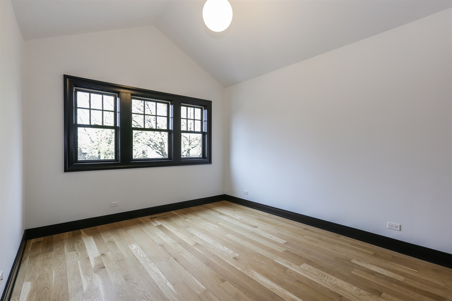 Real Estate Photography - 1702 W Farragut, Chicago, IL, 60640 - 2nd Bedroom