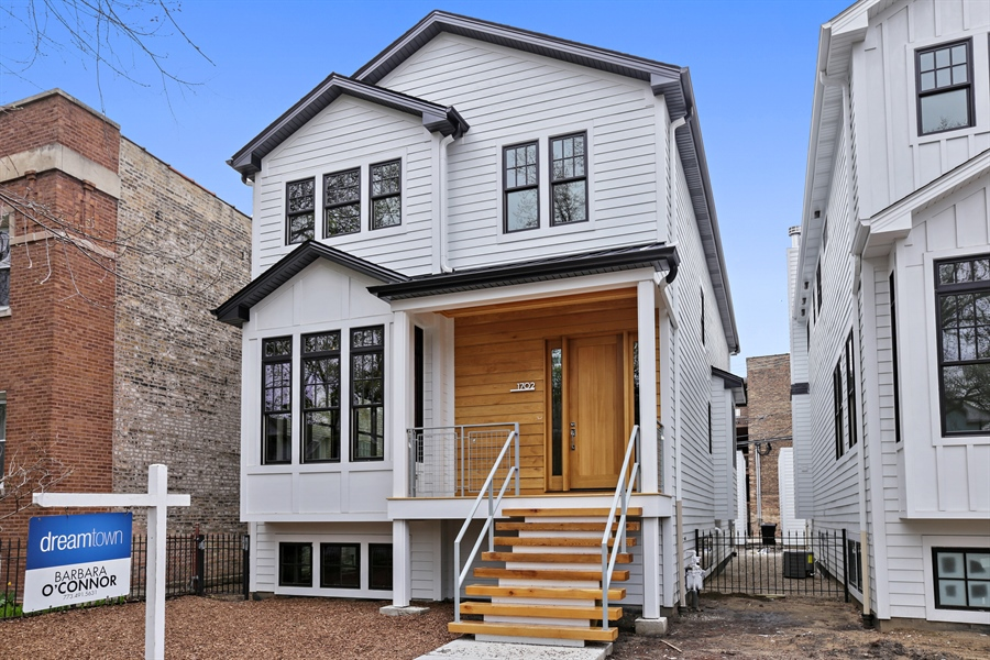 Real Estate Photography - 1702 W Farragut, Chicago, IL, 60640 - Front View