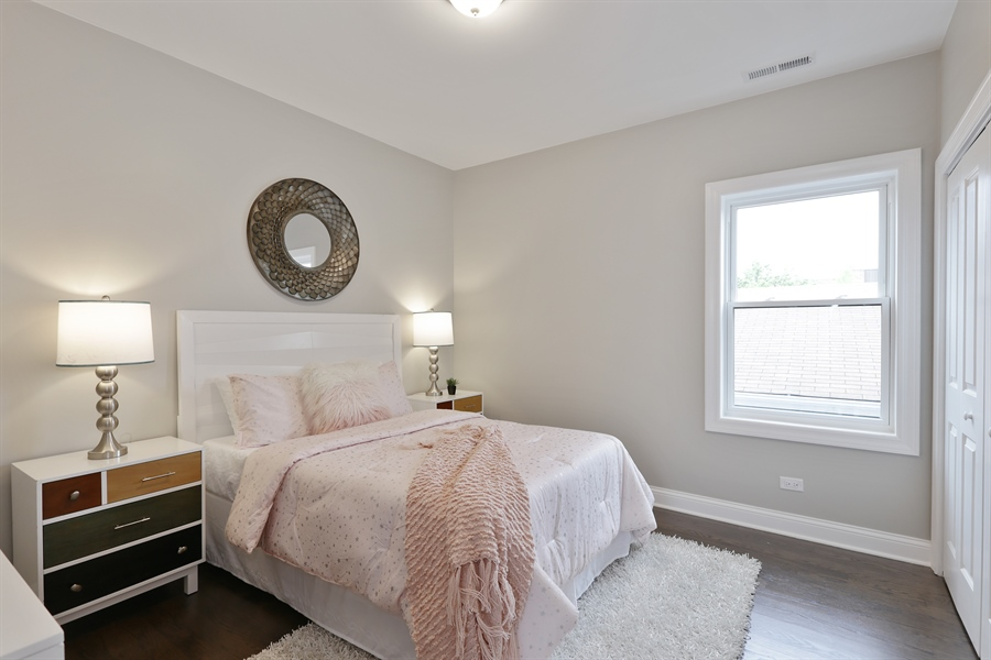 Real Estate Photography - 6108 N Wolcott, Chicago, IL, 60660 - 2nd Bedroom
