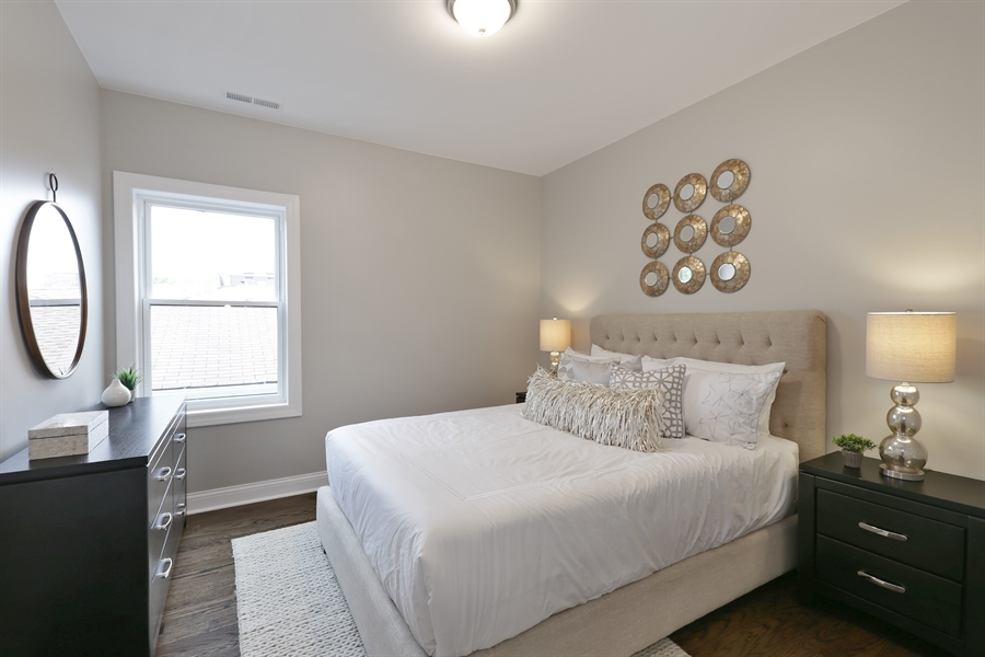 Real Estate Photography - 6108 N Wolcott, Chicago, IL, 60660 - 3rd Bedroom