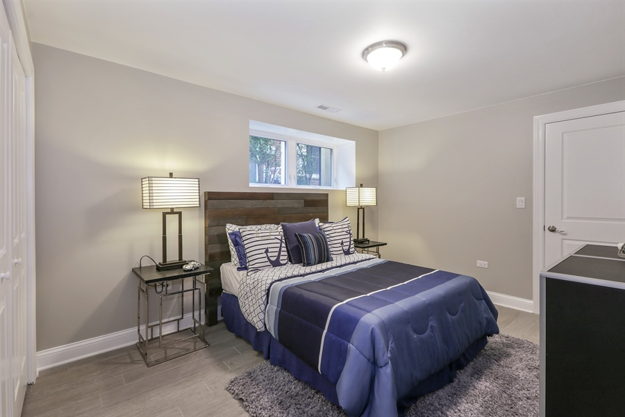 Real Estate Photography - 6108 N Wolcott, Chicago, IL, 60660 - 6th Bedroom