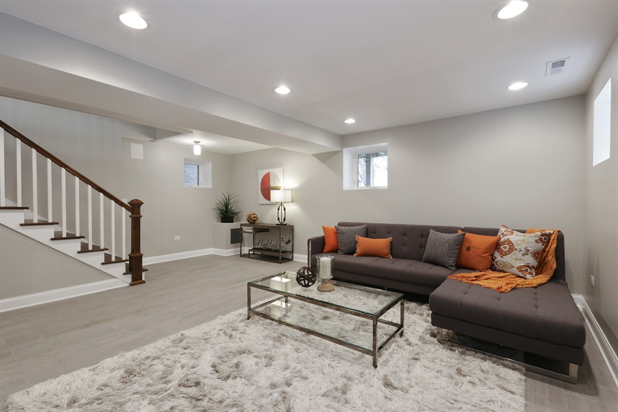 Real Estate Photography - 6108 N Wolcott, Chicago, IL, 60660 - Lower Level