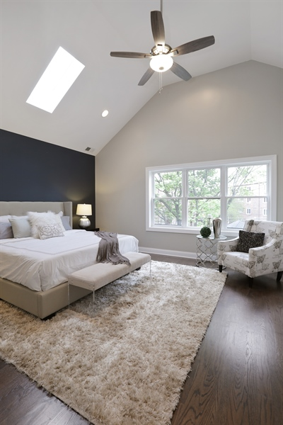 Real Estate Photography - 6108 N Wolcott, Chicago, IL, 60660 - Master Bedroom
