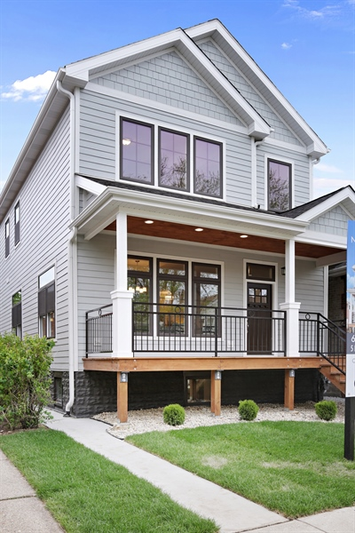 Real Estate Photography - 6108 N Wolcott, Chicago, IL, 60660 - Front View