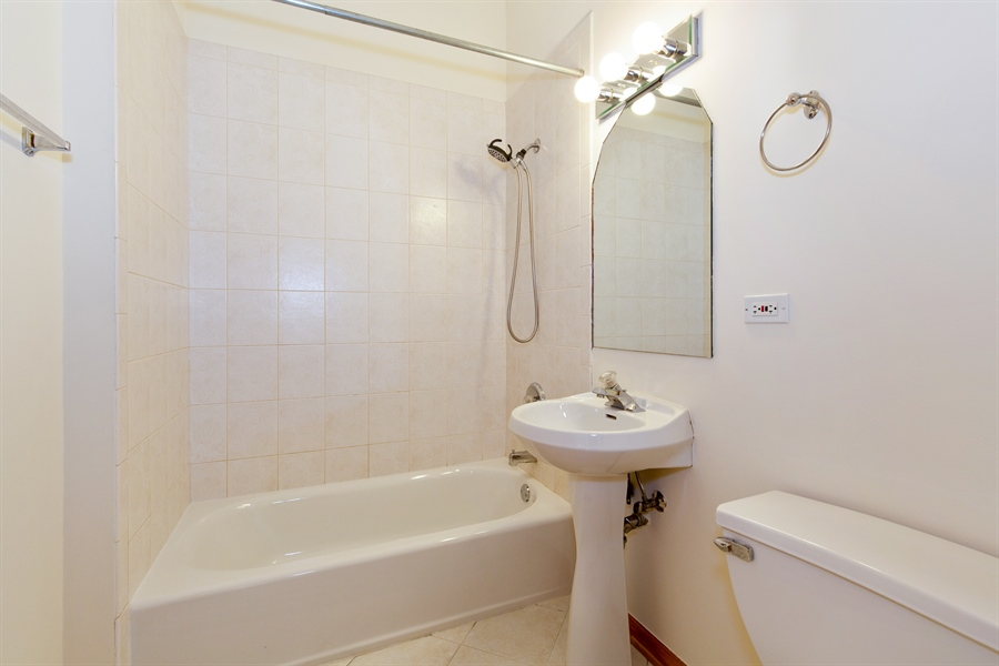 Real Estate Photography - 2136 W Monroe, Unit 203, Chicago, IL, 60612 - Bathroom