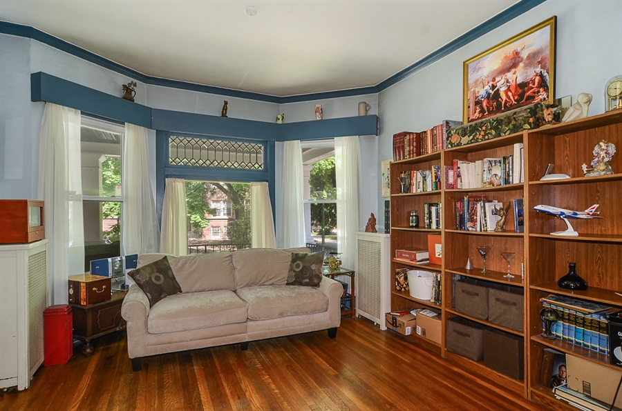 Real Estate Photography - 3818 N Lawndale, Chicago, IL, 60618 - Living Room