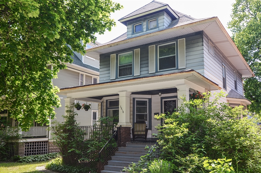 Real Estate Photography - 3818 N Lawndale, Chicago, IL, 60618 - Front View