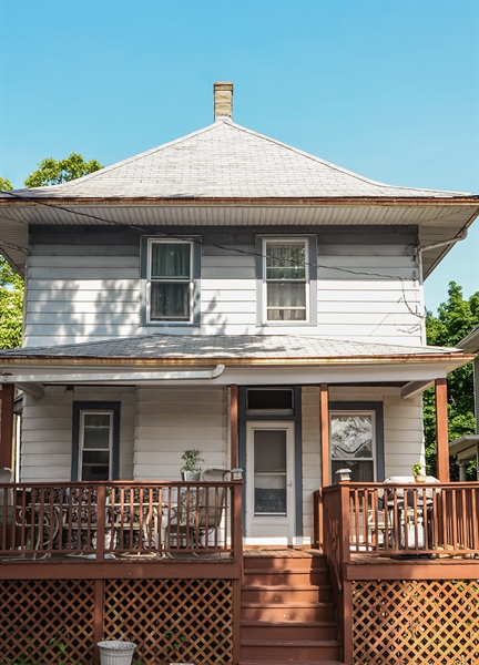 Real Estate Photography - 3818 N Lawndale, Chicago, IL, 60618 - Rear View