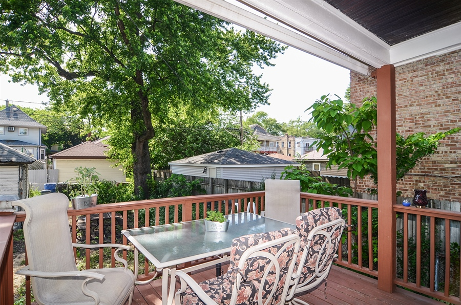 Real Estate Photography - 3818 N Lawndale, Chicago, IL, 60618 - Deck