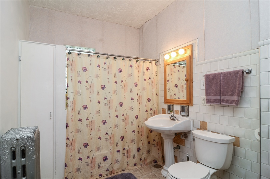 Real Estate Photography - 3818 N Lawndale, Chicago, IL, 60618 - Bathroom