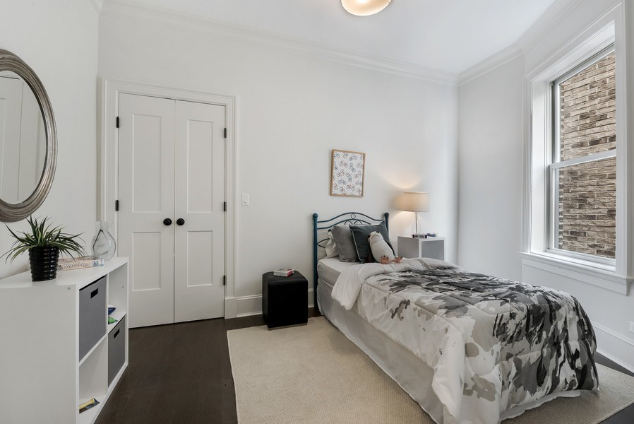 Real Estate Photography - 1330 W Newport, Chicago, IL, 60657 - 2nd Bedroom