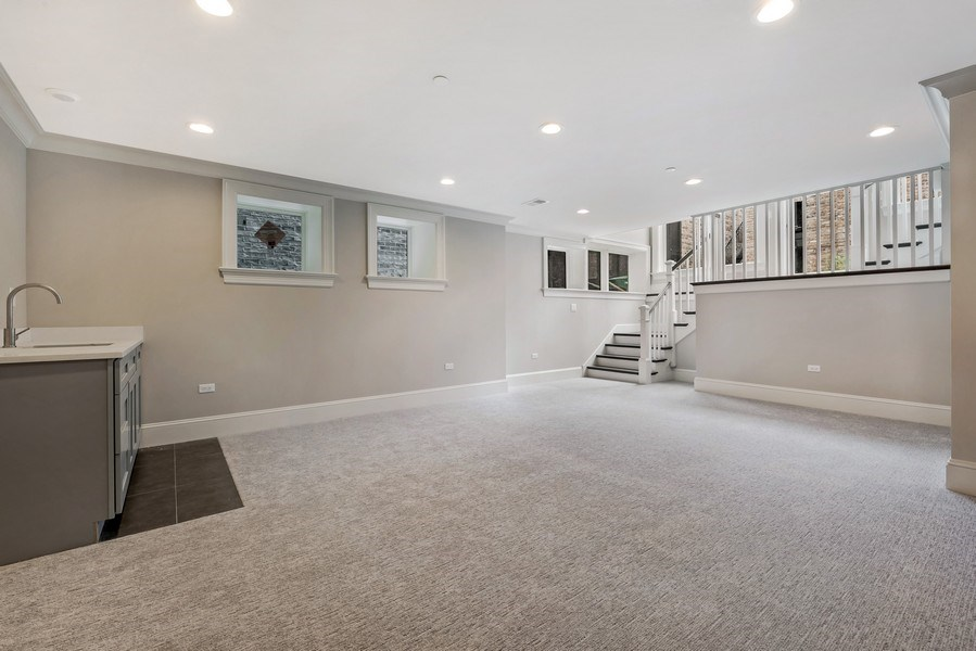 Real Estate Photography - 1330 W Newport, Chicago, IL, 60657 - Play / Recreational Room