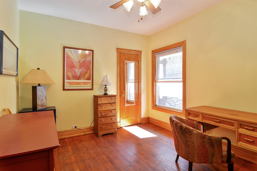Real Estate Photography - 4733 W Addison, Chicago, IL, 60618 - 3rd Bedroom