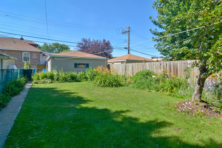 Real Estate Photography - 4733 W Addison, Chicago, IL, 60618 - Back Yard