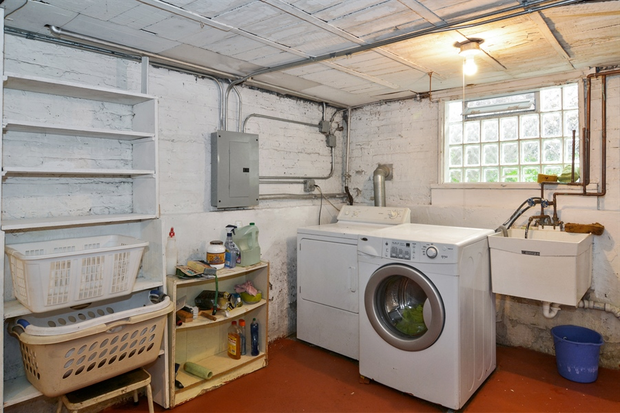 Real Estate Photography - 4733 W Addison, Chicago, IL, 60618 - Laundry Room
