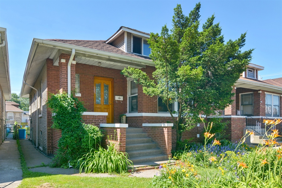 Real Estate Photography - 4733 W Addison, Chicago, IL, 60618 - Front View