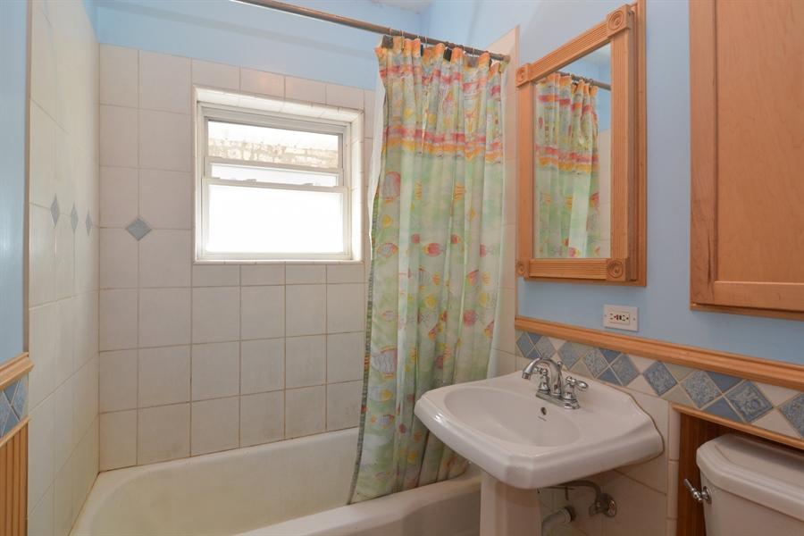 Real Estate Photography - 4733 W Addison, Chicago, IL, 60618 - Bathroom
