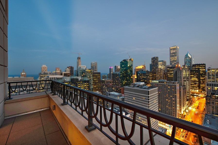Real Estate Photography - 118 E Erie, unit 38 L, Chicago, IL, 60611 - Terrace 2