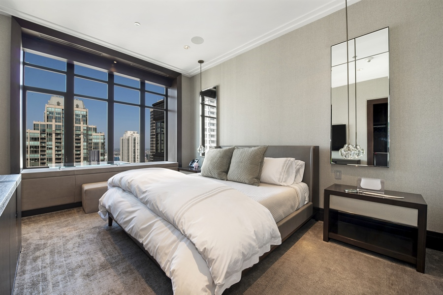 Real Estate Photography - 118 E Erie, unit 38 L, Chicago, IL, 60611 - 2nd Bedroom