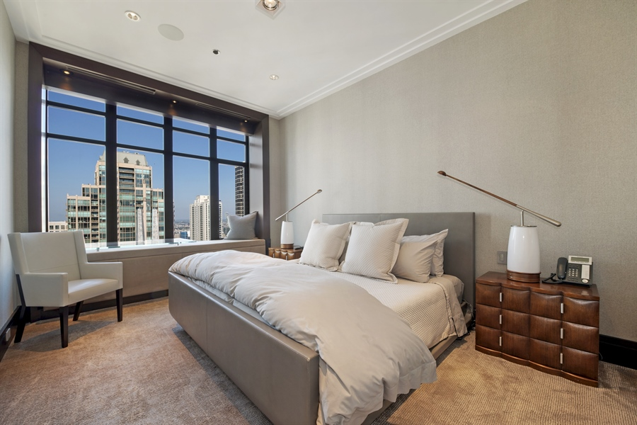 Real Estate Photography - 118 E Erie, unit 38 L, Chicago, IL, 60611 - 3rd Bedroom