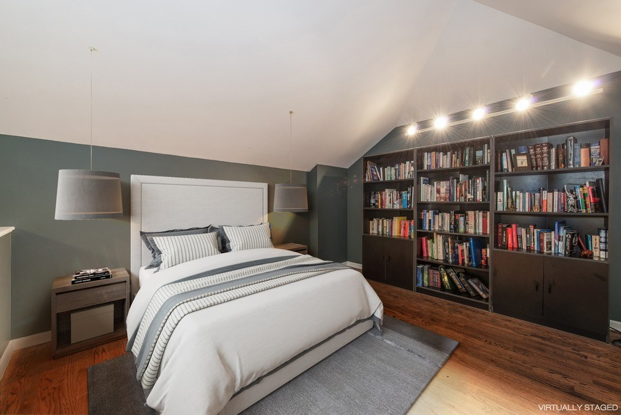 Real Estate Photography - 1251 W Fletcher L, Chicago, IL, 60657 - 3rd Bedroom