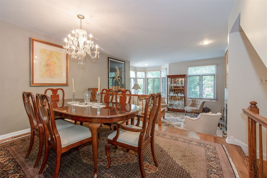 Real Estate Photography - 1251 W Fletcher L, Chicago, IL, 60657 - Dining Area