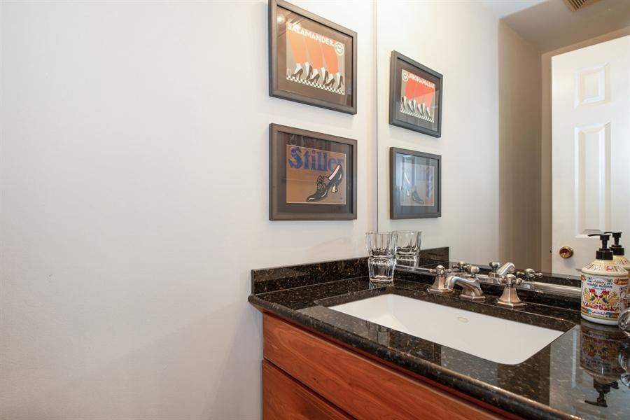Real Estate Photography - 1251 W Fletcher L, Chicago, IL, 60657 - Half Bath