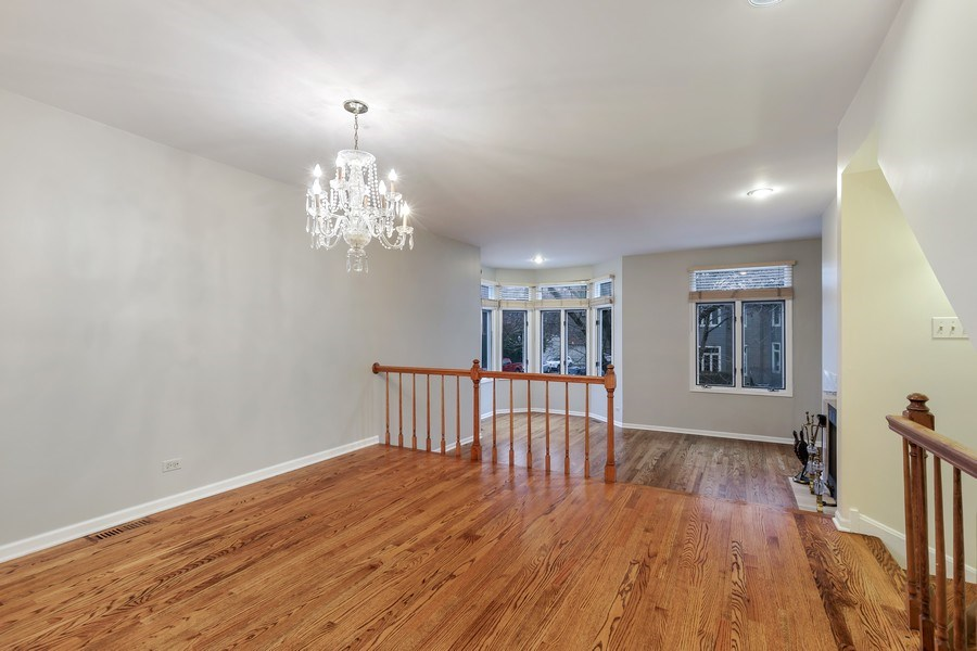 Real Estate Photography - 1251 W Fletcher L, Chicago, IL, 60657 - Living Room/Dining Room