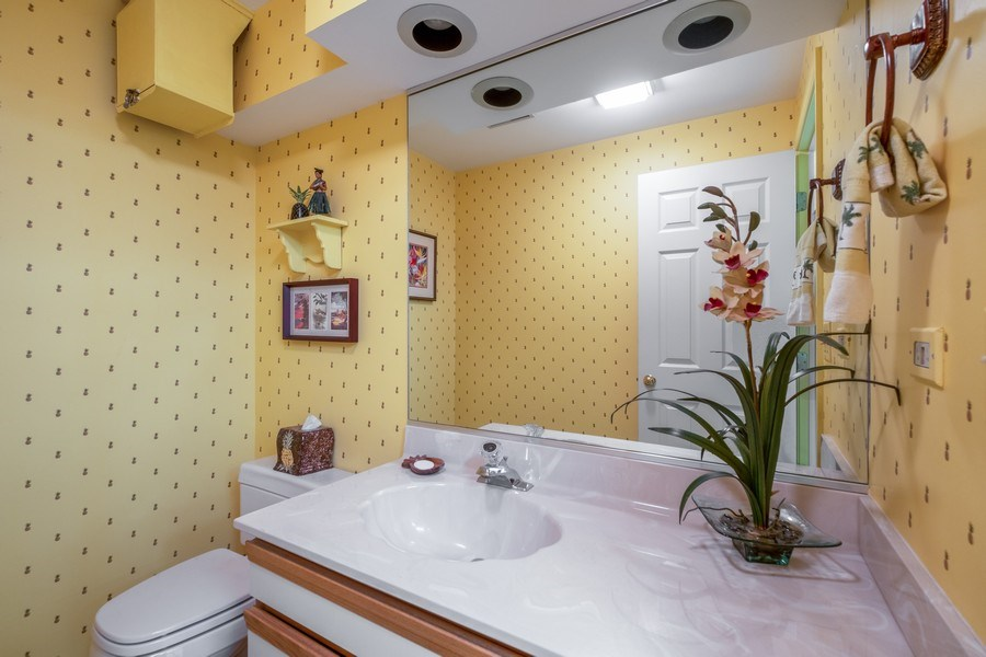 Real Estate Photography - 9025 Lincolnwood, Evanston, IL, 60203 - 3rd Bathroom