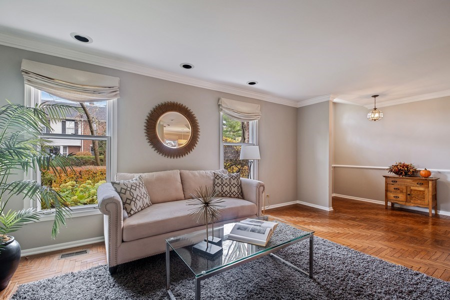Real Estate Photography - 9025 Lincolnwood, Evanston, IL, 60203 - Living Room