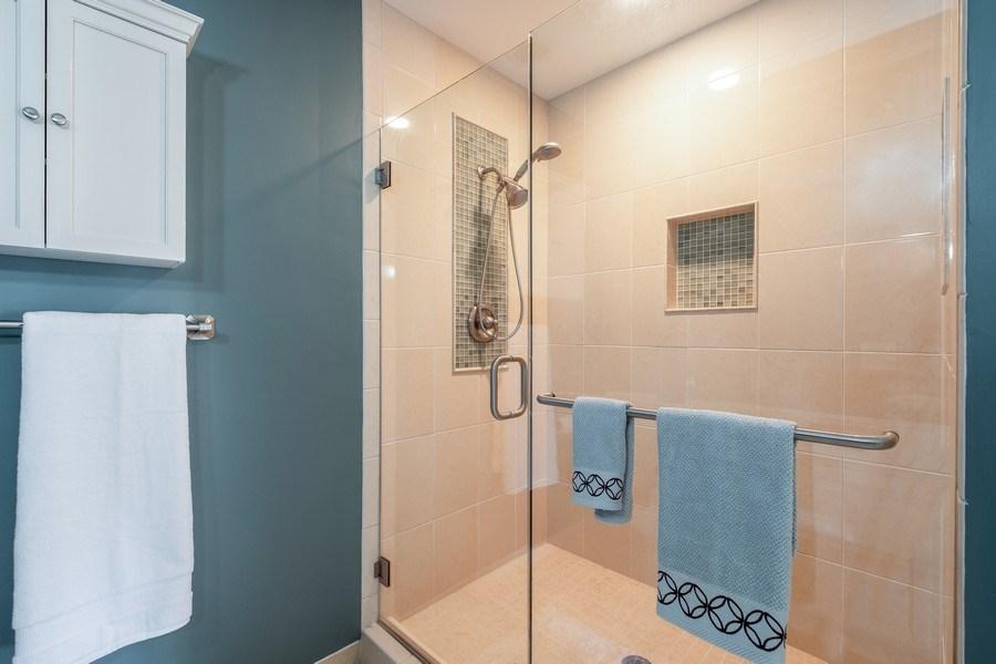 Real Estate Photography - 9025 Lincolnwood, Evanston, IL, 60203 - Master Bathroom