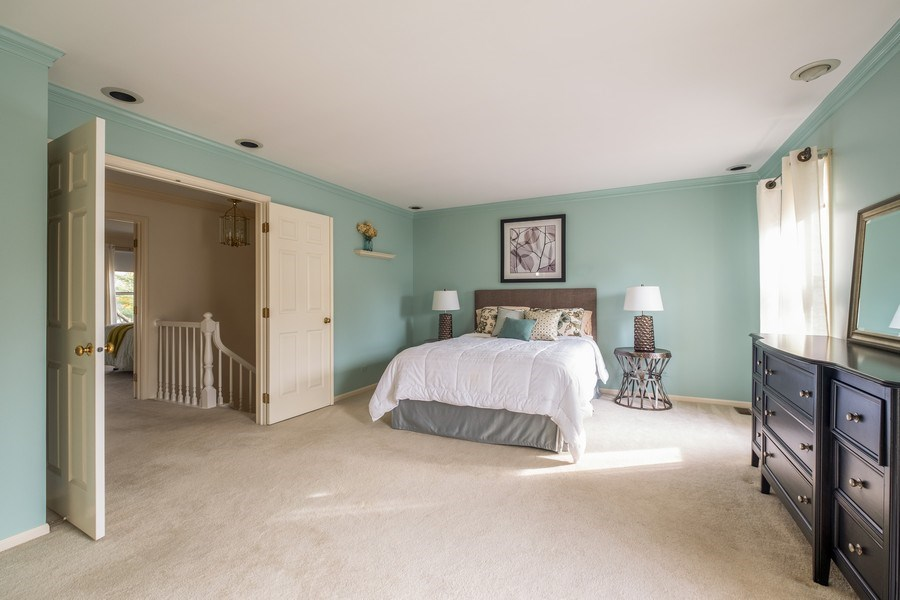 Real Estate Photography - 9025 Lincolnwood, Evanston, IL, 60203 - Master Bedroom