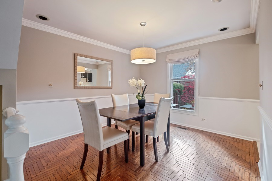 Real Estate Photography - 9025 Lincolnwood, Evanston, IL, 60203 - Dining Room