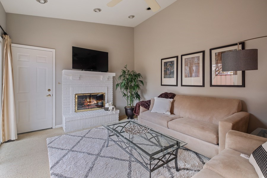 Real Estate Photography - 9025 Lincolnwood, Evanston, IL, 60203 - Family Room