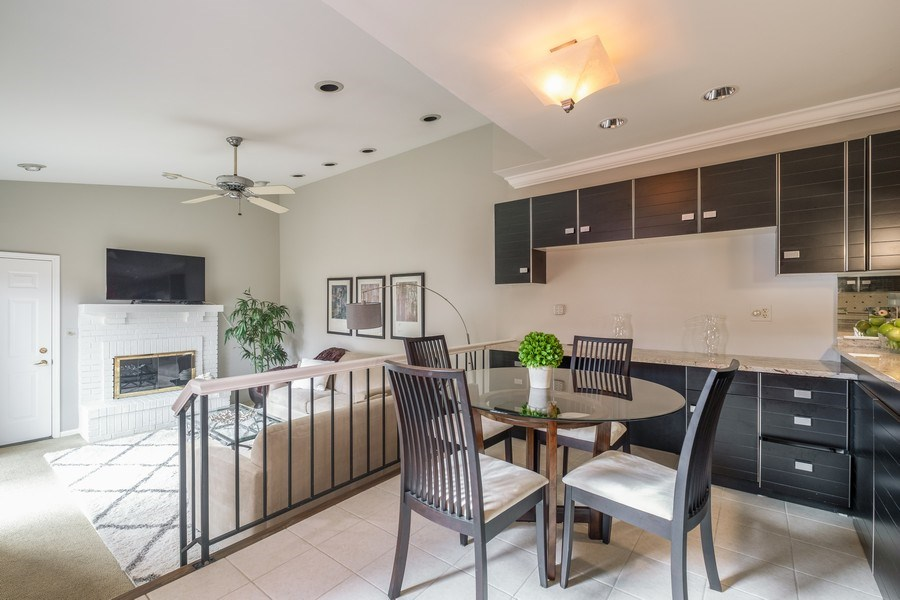 Real Estate Photography - 9025 Lincolnwood, Evanston, IL, 60203 - Breakfast Area