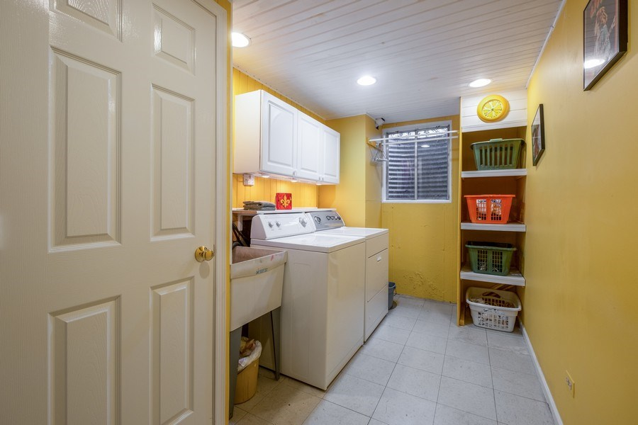 Real Estate Photography - 9025 Lincolnwood, Evanston, IL, 60203 - Laundry Room