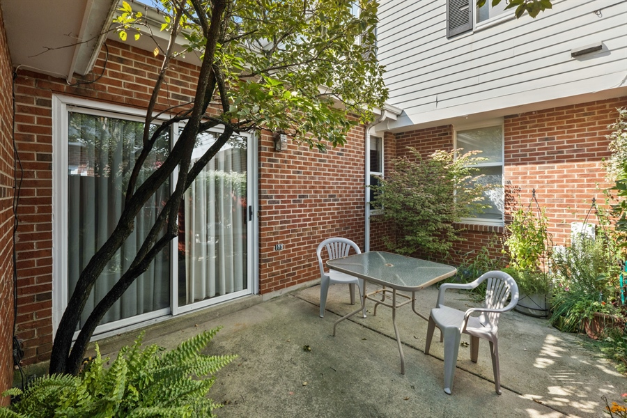 Real Estate Photography - 9025 Lincolnwood, Evanston, IL, 60203 - Patio