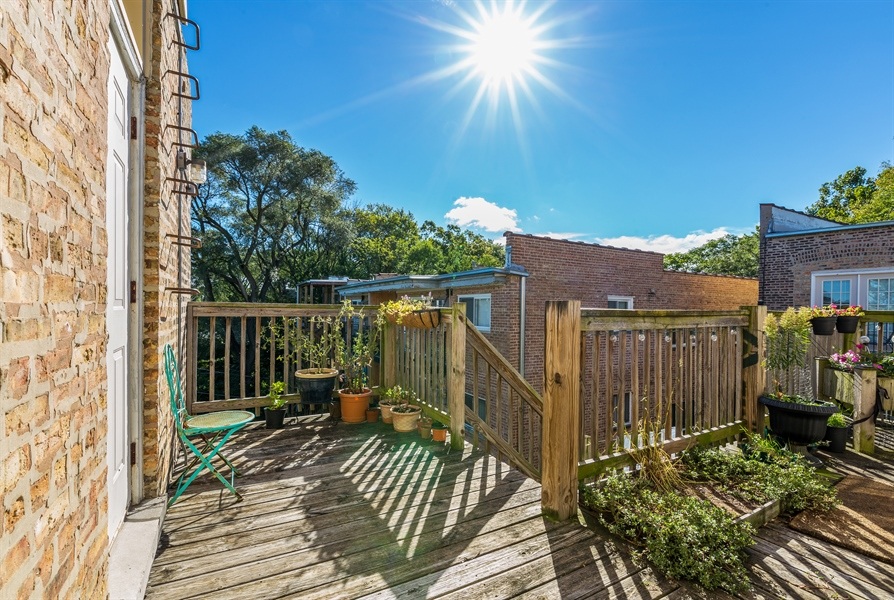 Real Estate Photography - 6511 N Oakley Ave, chicago, IL, 60645 - Roof Deck