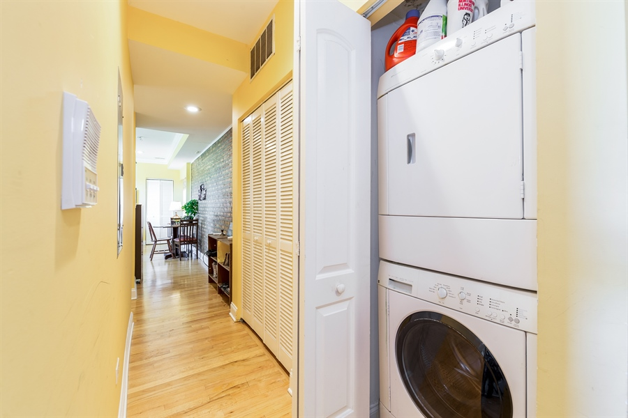 Real Estate Photography - 6511 N Oakley Ave, chicago, IL, 60645 - Laundry Room