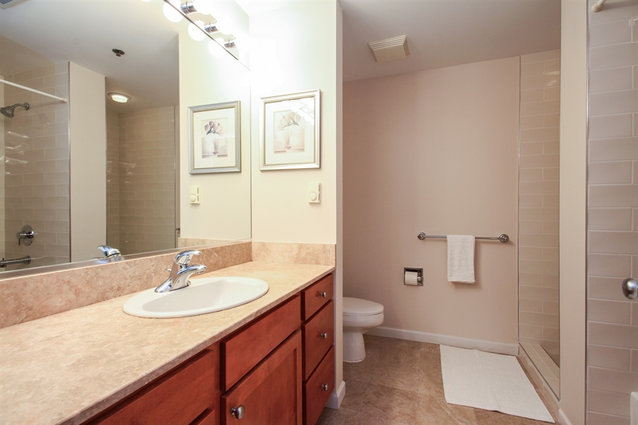 Real Estate Photography - 1212 N Wells, Unit 1405, Chicago, IL, 60610 - Master Bathroom