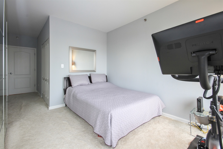 Real Estate Photography - 1212 N Wells, Unit 1405, Chicago, IL, 60610 - Bedroom